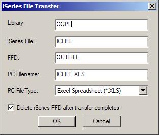 iSeries Data Transfer