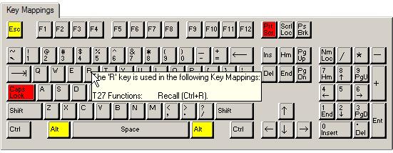 T27 Keyboard Mapping