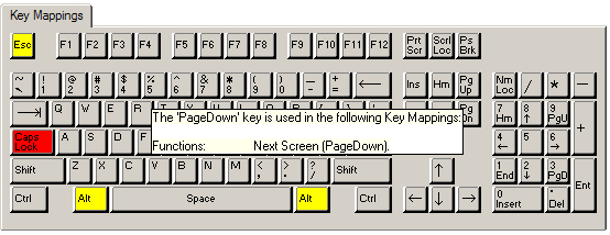 VT Keyboard Mapping
