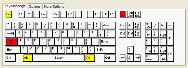 Uts Keyboard Mapping