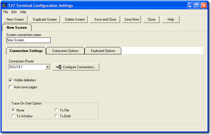 Unisys DCA Configuration